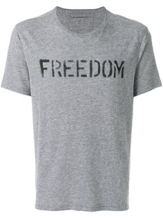 футболка с принтом Freedom John Varvatos
