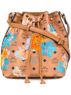 Essential floral drawstring bag MCM
