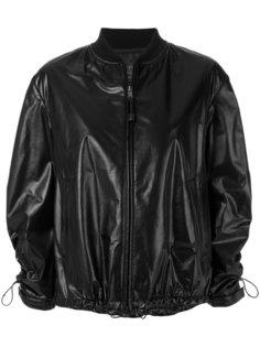 куртка-бомбер со шнурком  Prada