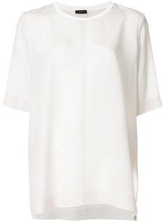 блузка с короткими рукавами  Joseph
