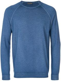 классический приталенный свитер  Drumohr
