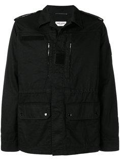 куртка с накладными карманами Saint Laurent