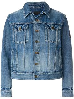 джинсовая куртка Love Me Forever Saint Laurent