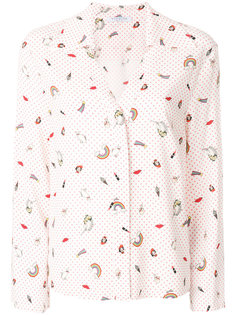 свободная рубашка с принтом  Vivetta