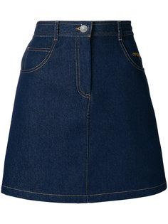 А-образная джинсовая юбка  MSGM