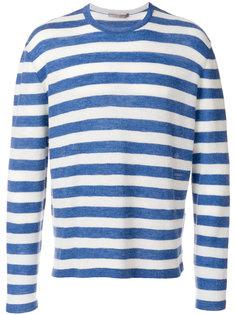 свитер с длинными рукавами в полоску Ermanno Scervino