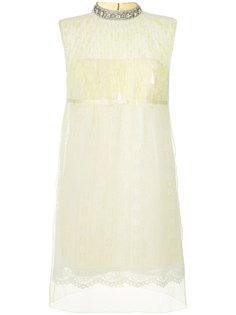 кружевное платье с пайетками  Marc Jacobs
