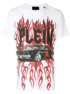 футболка с принтом Plein Philipp Plein