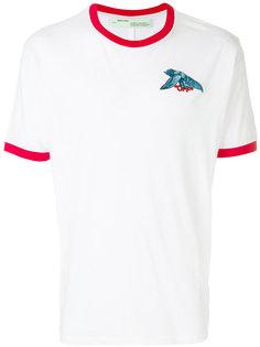 футболка с контрастной окантовкой Off-White