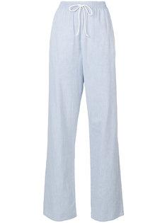 спортивные прямые брюки Mm6 Maison Margiela