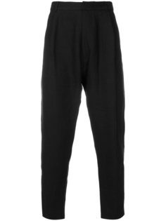 high waisted cropped trousers Ann Demeulemeester Grise