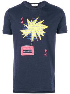 футболка с принтом Propaganda Vivienne Westwood