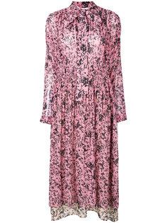 платье-миди с цветочным принтом Cédric Charlier