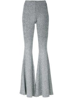 расклешенные брюки с блестками  Filles A Papa