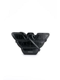 сумка через плечо с логотипом Emporio Armani