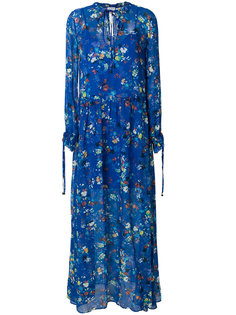 floral long flared dress Twin-Set