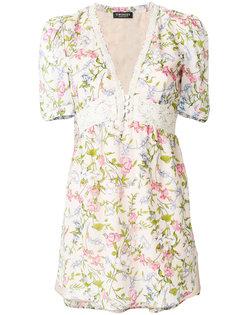 расклешенная блузка с цветочным принтом Twin-Set