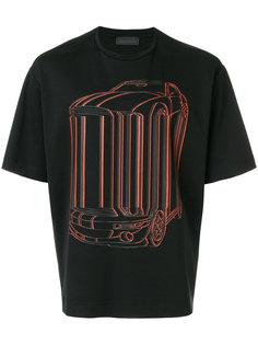футболка с автомобилем Diesel Black Gold
