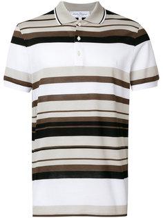 полосатая футболка-поло Salvatore Ferragamo