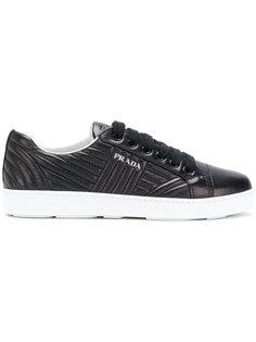 стеганые кроссовки Prada