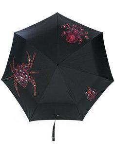 зонт с принтом Jewelled Bugs Alexander McQueen