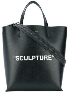 сумка-тоут Sculpture Off-White