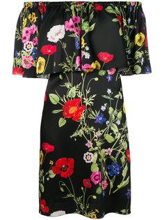 платье с цветочным принтом Blugirl
