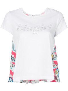 футболка с логотипом Blugirl