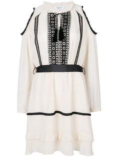 платье с открытыми плечами Blugirl