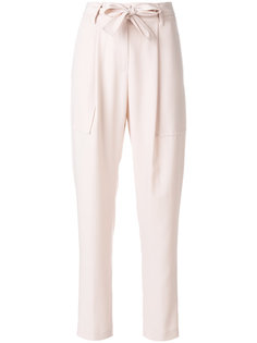 belted straight-leg trousers Blumarine
