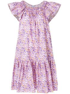 платье с приспущенными плечами Blumarine
