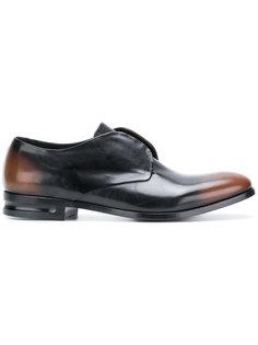 броги на шнуровке Alexander McQueen
