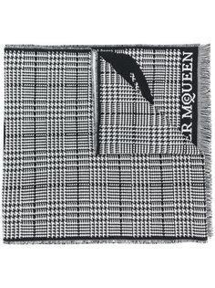 шарф с логотипом Alexander McQueen