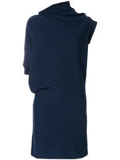 асимметричное приталенное платье  Maison Margiela