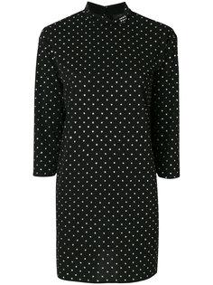 приталенное платье с узором в горох Marc Jacobs