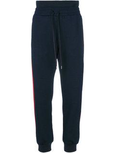 спортивные брюки с полосками по бокам Alexander McQueen