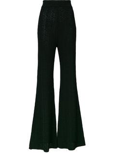брюки клеш с завышенной талией  Balmain