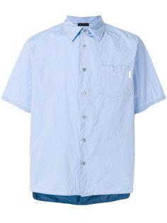 рубашка с короткими рукавами Prada