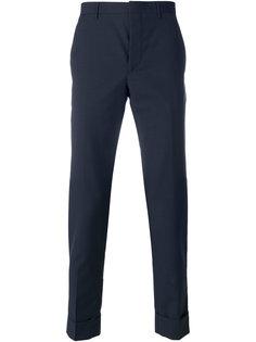 брюки прямого кроя Prada