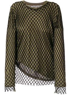 сетчатый многослойный свитер Marquesalmeida