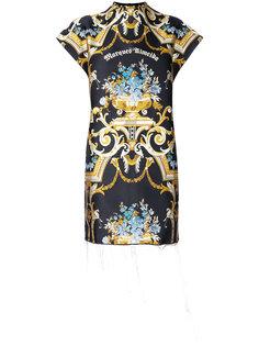 платье мини с принтом  Marquesalmeida