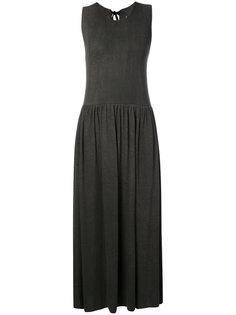 платье со сборками без рукавов Uma Wang