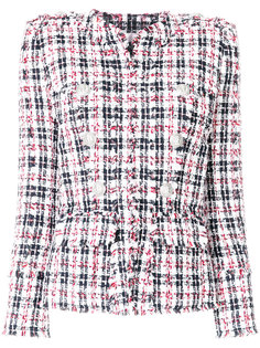 приталенный твидовый пиджак  Balmain