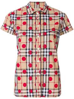 """рубашка в клетку """"house check"""" Burberry"""
