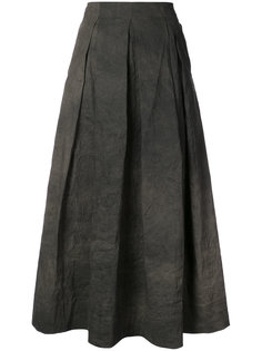 юбка с высокой талией и эффектом помятости Uma Wang