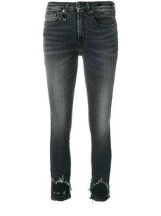 укороченные джинсы скинни R13
