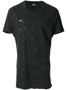 футболка с эффектом потертости Lost & Found Rooms