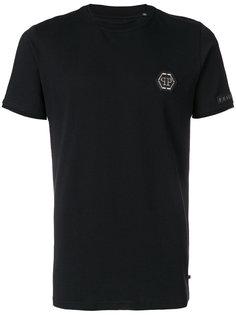 футболка с нашивкой логотипа Philipp Plein