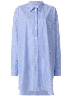 полосатое платье-рубашка  Maison Margiela