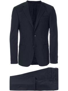 костюм с укороченными брюками  Z Zegna